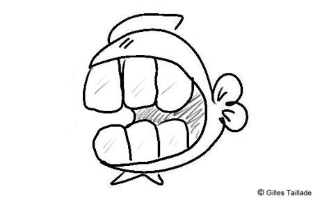 Humour les dessins humoristiques du poisson - Poisson marrant ...